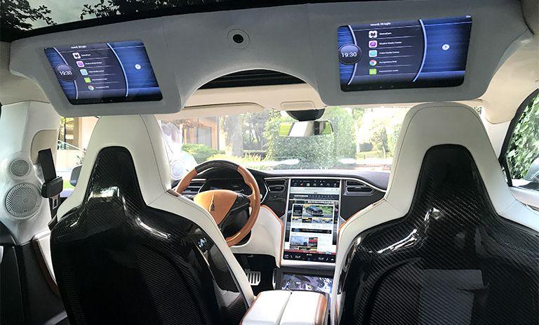 Tesla Model S P100D 72